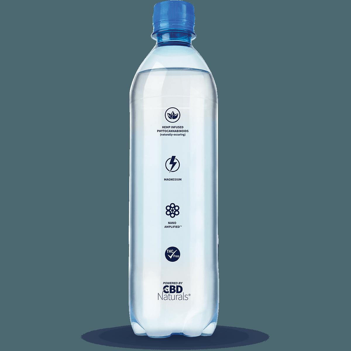 Nano H20 Hemp Infused h2o Bottle Side