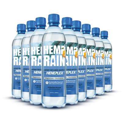 CBDNaturals Hemp Rain Water 24pk
